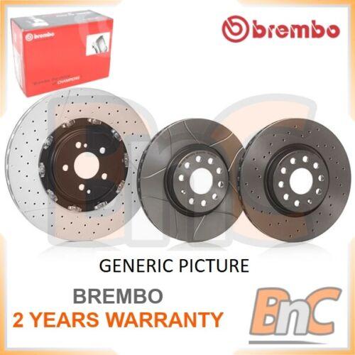 2x BREMBO Front Disque de frein Set VW Seat OEM 09672875 535615301