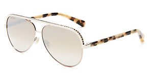 0e639458bac6 Image is loading JIMMY-CHOO-LINA-S-Aviator-Sunglasses-White-Silver-