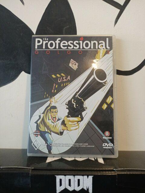 Golgo 13 The Professional (1983) Anime DVD PAL region 4 Saito/manga/madman 2002