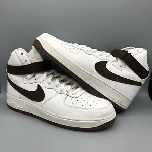 Chocolate 743546 Brown 102 White High One Details Jordan About 12 Qs Force Nike Air V 1 Size I 345AcRqjL