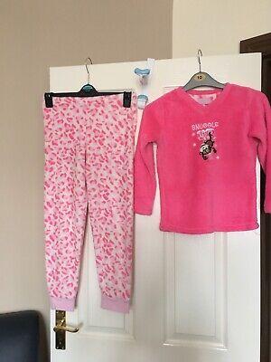 Cordiale Le Ragazze Primark Pijama - 9-10 Anni-il Giorno Successivo Post-londra-mostra Il Titolo Originale Ulteriori Sorprese