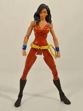 "2010 Red Donna Troy Wonder Woman Girl 6"" Mattel Action Figure DC Comics"