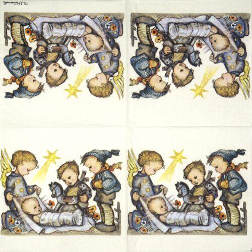 20x Déjeuner serviettes en papier Serviettes Parti DECOUPIS-Cadeau pour Jésus