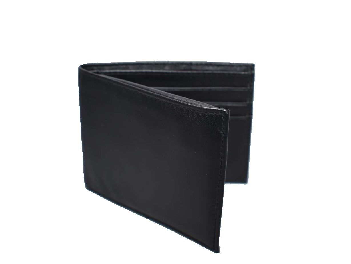Men's Genuine Leather Passcase- 9 Credit Card Slots/ ID Window & More!! 5157