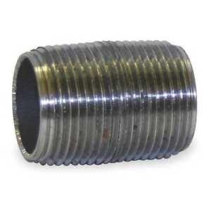 3//8 x 1-1//2 Black Pipe Nipple SCH 80