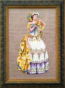 """SALE! COMPLETE X STITCH KIT """"THE BLOSSOM HARVEST"""" MD60 by Mirabilia"""