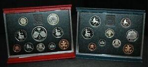 PROOF sets 1983 - 1999 Royal Mint Standard or Deluxe Choose Your Dates 50p £2