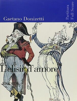 Alert Donizetti L'elisir D'amore Full Score Cheapest Price From Our Site