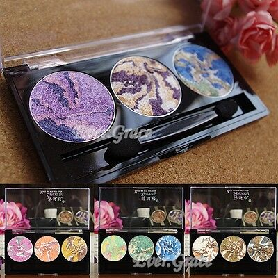 Charming Makeup Baked Eyeshadow Palette Highlight Mineral Eye Shadow Nude Look