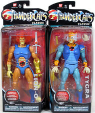 "CLASSIC Thundercats LOT OF 2! LION-O & TYGRA 8-inch Action Figure Bandai 8"" NEW"