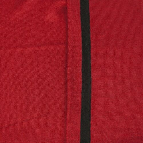 Kayla dama Guante para negro Regalo rojo 2 Wrap Rosssini art Pia xgwZtq5