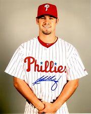 Signed  8x10 ADAM MORGAN Philadelphia Phillies Autographed photo - COA