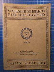 Volksliederbuch-fuer-die-Jugend-Band-1-Heft-1-C-F-Peters-Leipzig-H10278