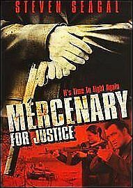 1 of 1 - Mercenary For Justice (DVD, 2006)