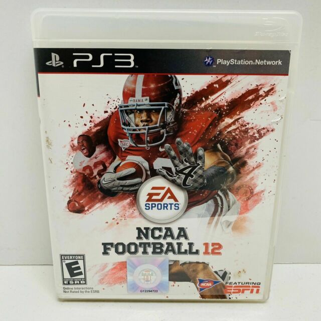 PS3 2012 NCAA Football 12 game. PlayStation 3 (EA Sports ...Ps3 Games List 2012