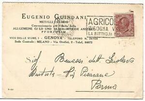 COMMERCIALE-196-GENOVA-Metalli-preziosi-EUGENIO-GUINDANI-Vg-1928