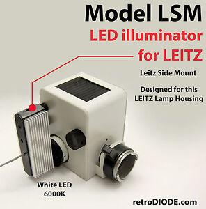 LED-illuminator-retrofit-Kit-with-dimmer-control-for-older-LEITZ-microscopes