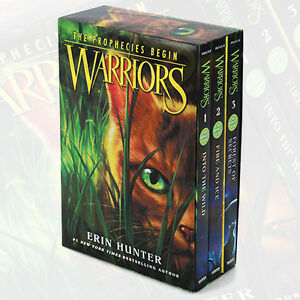 Warriors-The-Prophecies-Begin-Collection-3-Books-Box-Set-by-Erin-Hunter-English