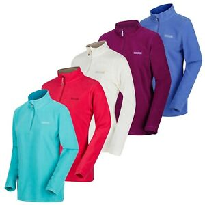 Regatta-Womens-Sweethart-Micro-Fleece-Top-Lightweight-Ladies-Half-Zip-From-8-99