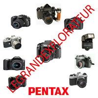 Ultimate Pentax  Operation, Repair & Service manuals  (270 PDFs manual s on DVD)