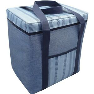 Alfresco-Insulated-Large-12l-Cooler-Bag-Demin-Lunch-Box-Brand-New-Gift