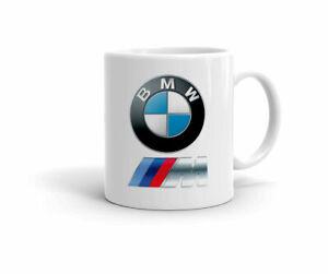 BMW-LOGO-AUTO-POWER-M-Tazza-Bianca-Festa-Di-Compleanno-Regalo-11-OZ