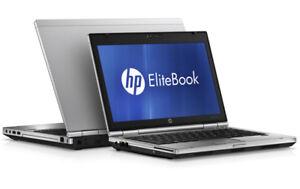 Fringant Hp Elitebook 2560p Intel I5 2.5ghz 4 Go 320 Go Hdd 1366x768 Webcam Bt Win 10/7 Pro-afficher Le Titre D'origine