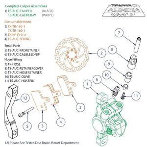 Compression Ferrule AUC TS-AUC-OLIVE TEKTRO SPARES