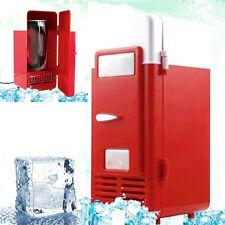 Summer Mini USB Refrigerator Fridge Beverage Drink Cans Cooler Warmer Office