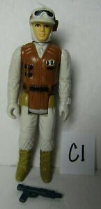 Vintage Loose 1980 Star Wars: ESB Hoth Rebel Soldier Complete Figure