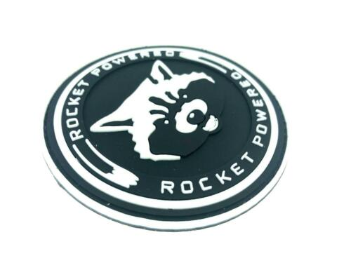 Rocket Powered Guardians Of The Galaxy Airsoft Paintball PVC Morale Team Patch