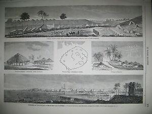 SENEGAL-EXPEDITION-DU-FOUTA-GARE-DU-NORD-POLOGNE-CZYZEWE-INSURGeS-GRAVURES-1863