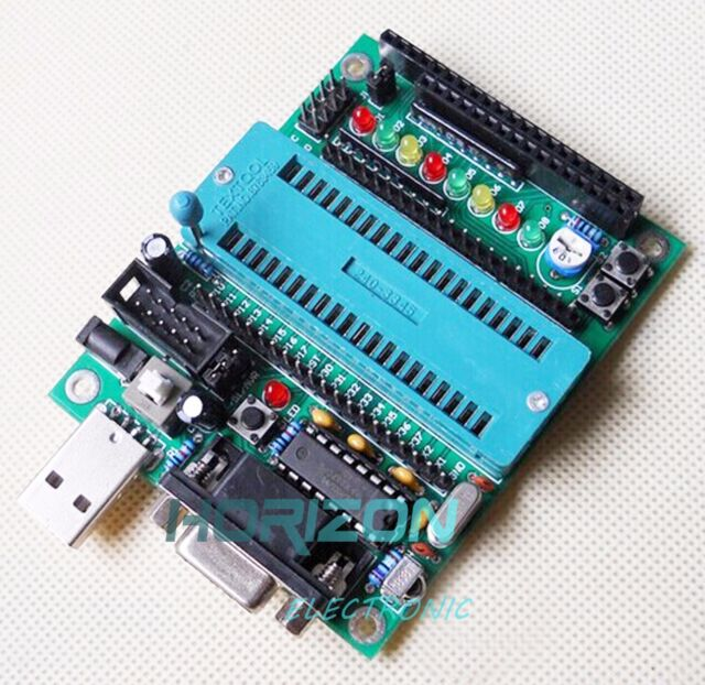 C51 AVR MCU development board DIY learning board kit Parts and components Good