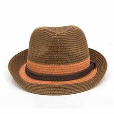 d914a4ea2edf0 item 3 Men Women Summer Straw Fedora Trilby Hats Panama Short Brim Gentle  Caps Dance -Men Women Summer Straw Fedora Trilby Hats Panama Short Brim  Gentle ...