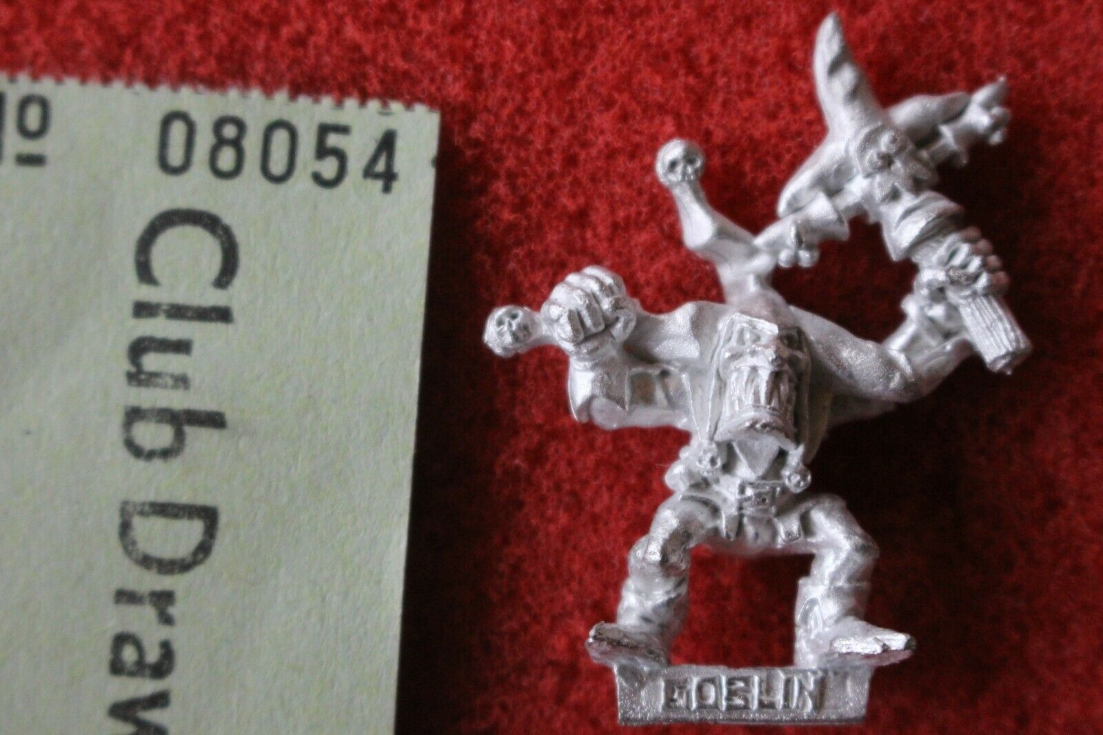Games Workshop Warhammer Quest Gubbinz Goblin Jester Lair of the Orc Lord New GW