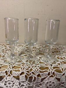 Vintage-Stemmed-Cordial-Shot-Shooter-Glasses-Set-of-3