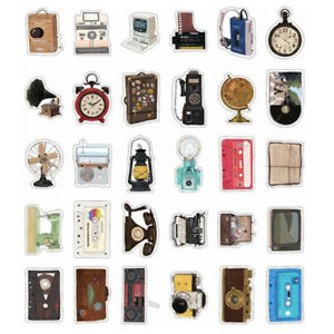 30pcs-Lot-Vintage-Irregular-Shape-Postcards-Retro-Home-appliance-Cards-Set