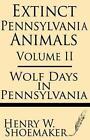 Extinct Pennsylvania Animals (volume 2) Wolf Days in Pennsylvania Paperback – 20 Jun 2013
