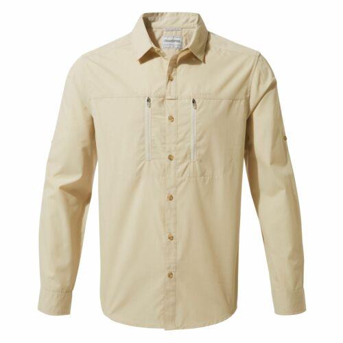 Craghoppers Kiwi Boulder Long Sleeve Shirt Nosi CMJ258 UV Protection Shirt