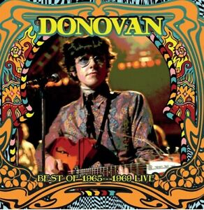 DONOVAN-LIVE-ON-AIR-1965-1969-amp-INTERVIEWS-COLOR-VINYL-180-GRAM-LP-UK-IMPORT