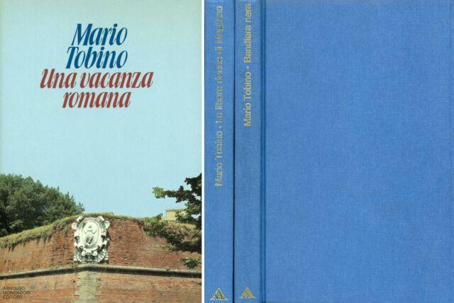 TOBINO, Mario. Una vacanza romana. Mondadori
