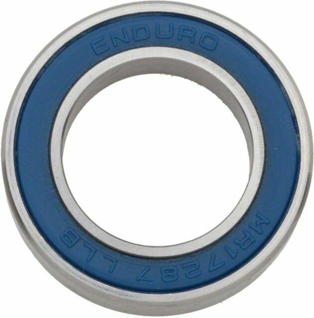 Enduro Cartridge bearing MR-17287 2RS ABEC 3 17X28X7mm