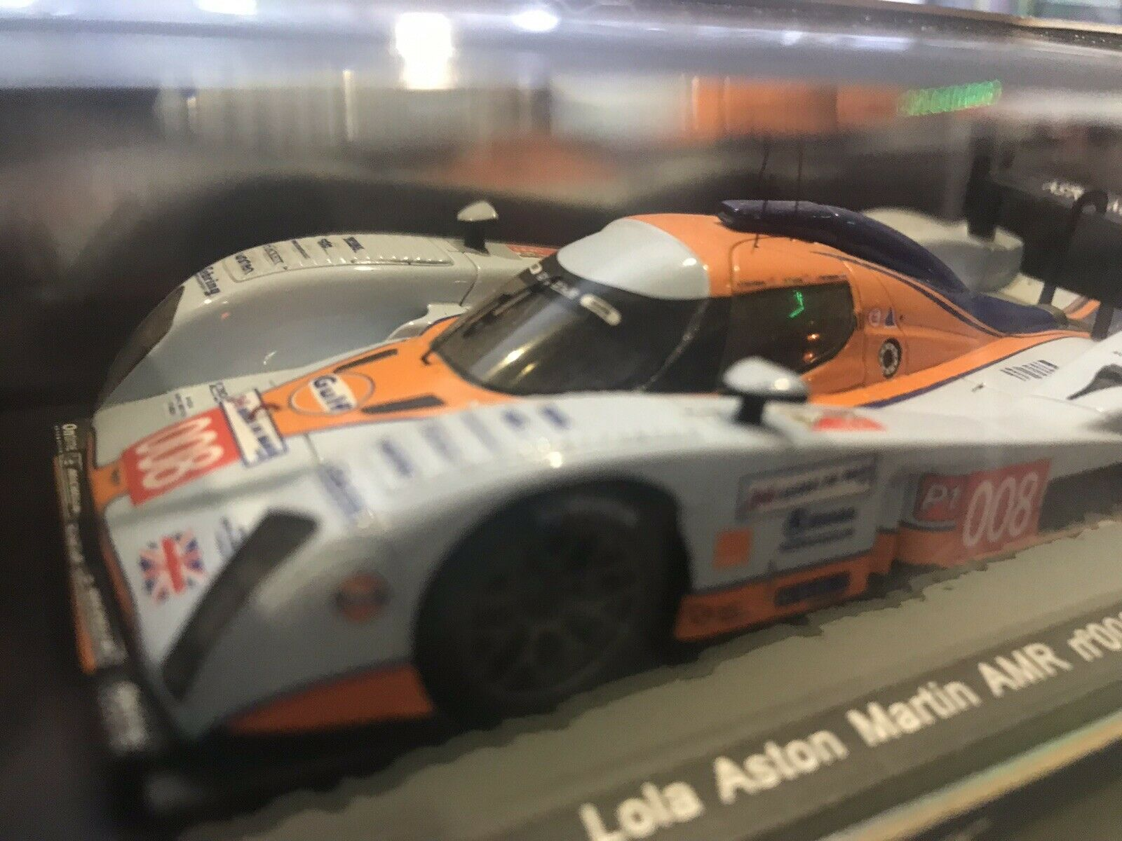 Spark 1 43 s1457  lola aston martin gulf  8 lm 2009 like nouveau collection  au prix le plus bas