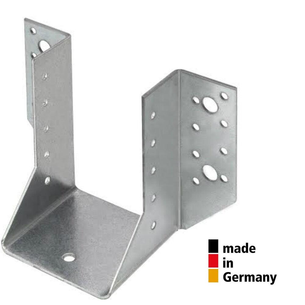 Außenliegender Balkenschuh verzinkt & mit Zulassung hergestellt MADE in GERMANY