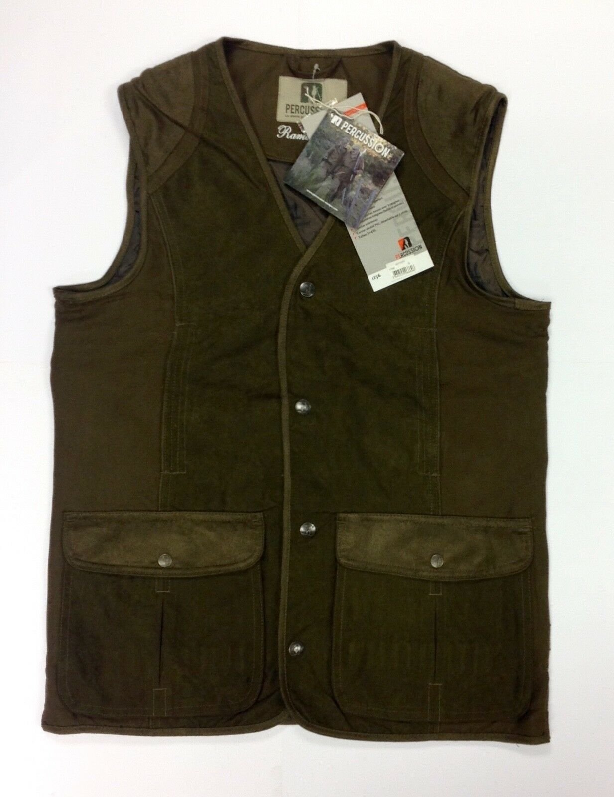 Percussion Rambouillet Hunting Vest Gilet Shooting Fishing Country 2017
