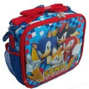 Sonic The Hedgehog Shadow Tails Knuckles Lunch Box New Licensed Product Ebay