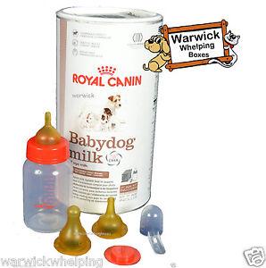 royal canin 400 gram baby dog puppy milk kit whelping with bottle teats 5060261410357 ebay. Black Bedroom Furniture Sets. Home Design Ideas