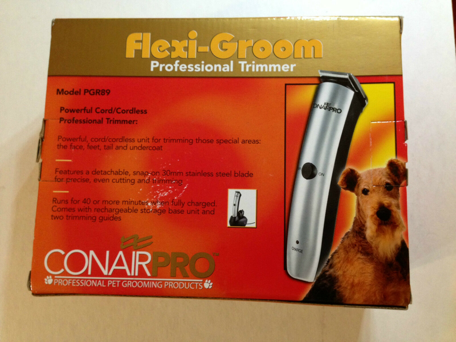 Conair Canine  Flexi-Groom Professional Cord Cordless Trimmer