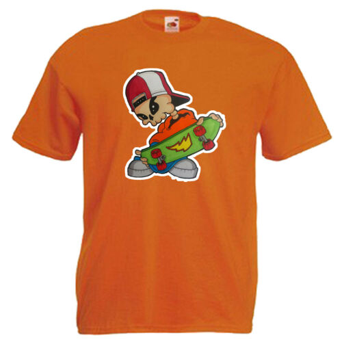 Skater skateboard Children/'s Kids Childs Camiseta De Regalo