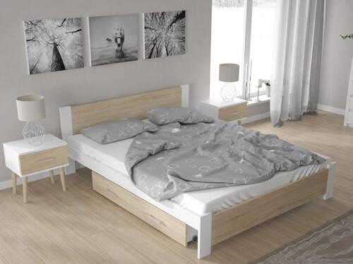 Bett Acera mit Lattenrost Schlafzimmerbett Doppel klassisch modern Fichte massiv